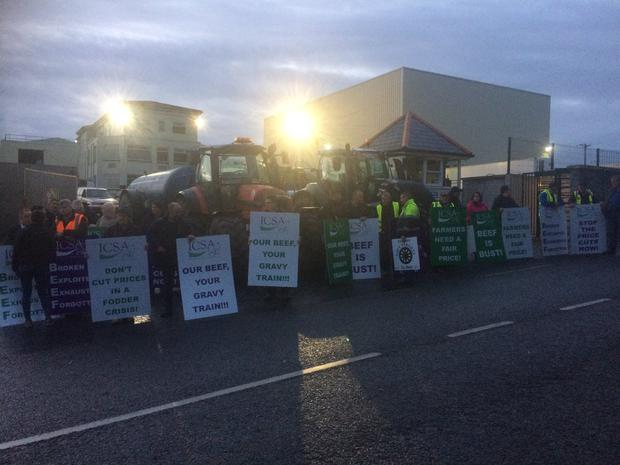 ICSA Protest at ABP Clones in Monaghan