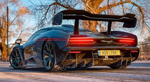 Forza Horizon 4: The cover star is the McLaren Senna supercar