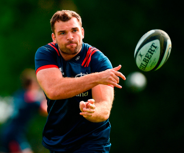 Tadhg Beirne is ready to deliver for his adopted province of Munster in the Aviva today, having started out with his native Leinster. Photo: Diarmuid Greene/Sportsfile