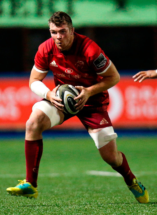 Peter O'Mahony sets the tone and temperature for Munster. Photo: Sportsfile