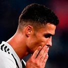 Clear conscience: Cristiano Ronaldo has vowed to fight the allegations. Photo: Getty Images