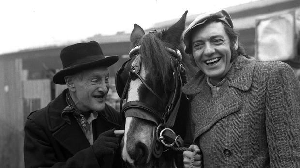 Wilfrid Brambell and Harry H Corbett in Steptoe And Son (PA)