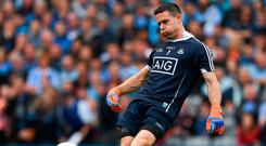 'It is a bit like vacuum cleaners being called Hoovers after the main supplier, so the short kick-out should be known as the Cluxton'. Photo: Sportsfile