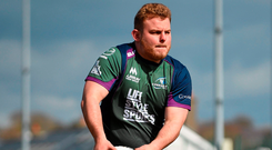 Finlay Bealha has signed a new deal with Connacht