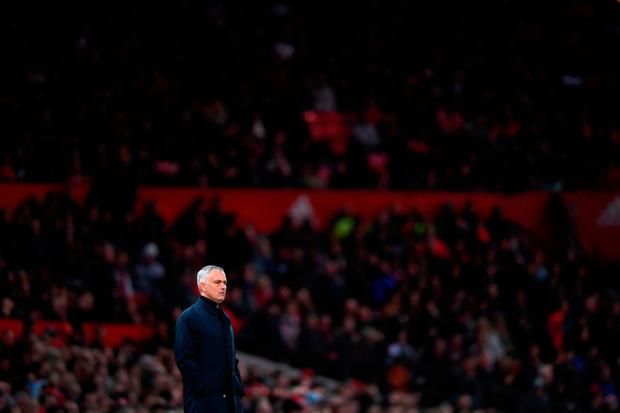 'The very self-belief which enabled Jose Mourinho to rise to the top of his profession now makes him his own worst enemy'. Photo: Getty