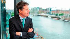 Finance Minister Paschal Donohoe may decide to adopt a 'wait and see' stance on Brexit Budget measures. Photo: Aidan Crawley/Bloomberg