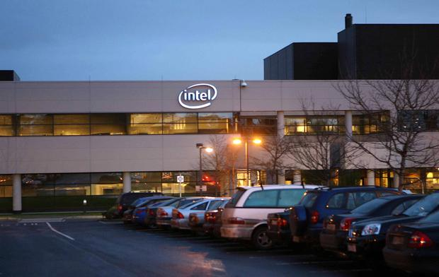 US semiconductor giant Intel is to expand production capacity at its Leixlip campus. Photo: Kyran O'Brien