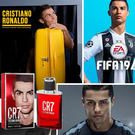 MONEY-MAKING MACHINE: Cristiano Ronaldo has huge sponsorship deals all over the world