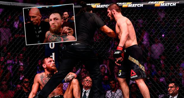 Why did Conor McGregor get in brawl after Khabib fight? New video