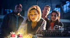 Jodie Whittaker as The Doctor (Sophie Mutevelian/BBC)