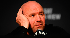 UFC president Dana White claimed he was horrified by the scenes after the fight. Photo by Stephen McCarthy/Sportsfile