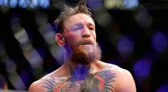 Conor McGregor. 'So dominant was Nurmagomedov that it's difficult to imagine anything other than the same outcome in a rematch.' AP Photo/John Locher