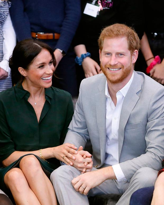 The Duke and Duchess of Sussex at The Joff, Peacehaven Youth Centre, East Sussex, as part of their first joint official visit to Sussex