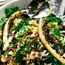 Yotam Ottolenghi's cauliflower, pomegranate and pistachio salad