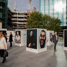 A general view of at an outdoor exhibition in RegentÕs Place in London Credit: David Mirzoeff/PA Wire