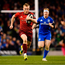 6 October 2018; Keith Earls of Munster during the Guinness PRO14 Round 6 match between Leinster and Munster at the Aviva Stadium in Dublin. Photo by Seb Daly/Sportsfile
