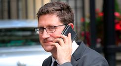 Greens leader Eamon Ryan has condemned the Government response on climate. Photo: Tom Burke