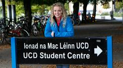 Ruling: Wexford student Rebecca Carter won her High Court appeal