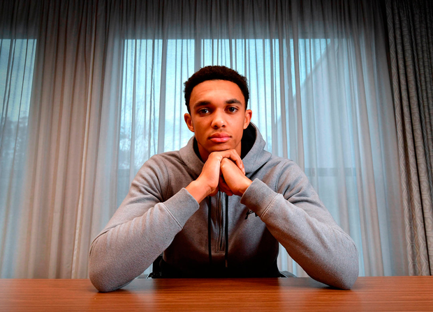 Liverpool and England's Trent Alexander-Arnold. Photo: PA