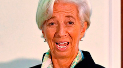 IMF managing director Christine Lagarde. Picture: AFP