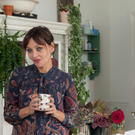 Pearl Lowe's 'romantic rock and roll look' perfectly describes her interiors. Photo: Emma Cattall.