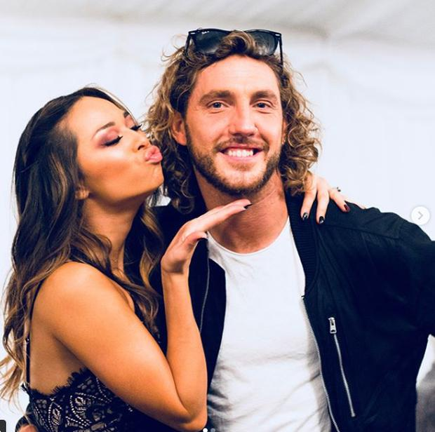 Seann Walsh and Katya Jones. Picture: Instagram