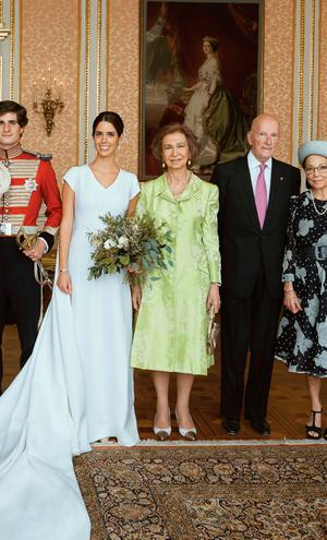 Wedding In Spanish.Duke Of Huescar Marries Sofia Palazuelo In Society Wedding Of The