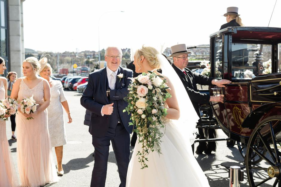 Real wedding: A day of surprises at Suzi and Noah's Tullyveery House nuptials