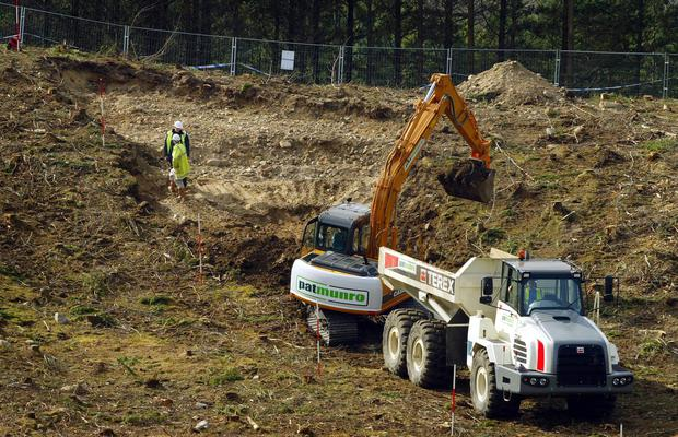 Previous searches took place at Dalmagarry Quarry following a cold case review in 2004 (Maurice McDonald/PA)