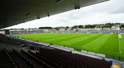 Up in Salthill, Pearse Stadium has a capacity of around 28,000. So why have a 12,000-capacity ground less than three miles away? Photo: Ramsey Cardy/Sportsfile