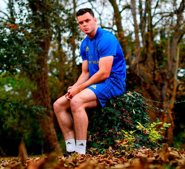 """James Ryan: """"I just talk when I feel something needs to be said. I wouldn't be going out of my way to speak in meetings."""". Photo: Ramsey Cardy/Sportsfile"""