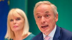 Education Minister Richard Bruton insisted that the Budget would 'help us make significant progress on our journey to becoming the best education and training service in Europe by 2026'. Photo: Damien Eagers/INM