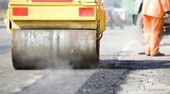 Some €40m for repairs to local roads, regional roads and footpaths were included in the Budget. Stock Image