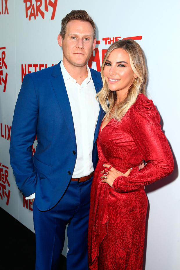 HOLLYWOOD, CA - AUGUST 15: Trevor Engelson (L) and Tracey Kurlan attend the screening of Netflix's