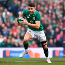 10 March 2018; Conor Murray of Ireland during the NatWest Six Nations Rugby Championship match between Ireland and Scotland at the Aviva Stadium in Dublin. Photo by Ramsey Cardy/Sportsfile