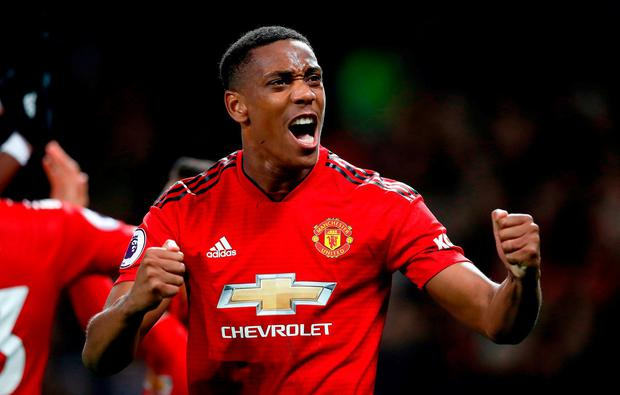 Manchester United trigger 10m Anthony Martial payment after Newcastle goal