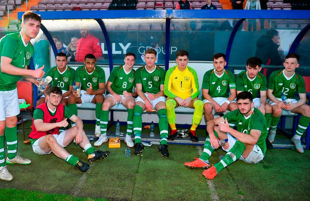 Ireland will need all the talent they can get as only victory today and again in Germany on Tuesday in their final qualifiers will salvage ambitions of reaching the finals next year. Photo by Seb Daly/Sportsfile