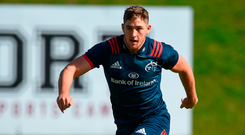 Keith Earls says it is essential that Munster can bring as many talented players like Dan Goggin through as possible. Photo by Diarmuid Greene/Sportsfile