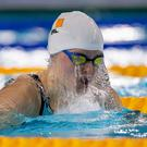 Niamh Coyne competes in the Swimming Women's 100m Breaststroke Semifinal 1 at the Youth Olympic Game Photo: Thomas Lovelock for OIS/IOC/Handout via REUTERS