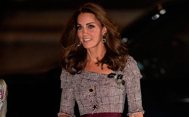 Catherine, Duchess of Cambridge attends the opening of the V&A Photography Centre at Victoria & Albert Museum on October 10, 2018 in London