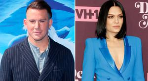 Channing Tatum, left, and Jessie J, right