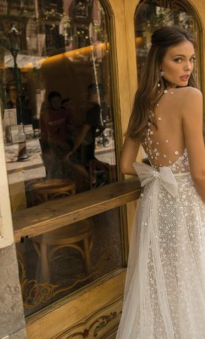87316d7a48 Bridal Fashion Week   Less is more  in Berta s 2019 Fall collection ...