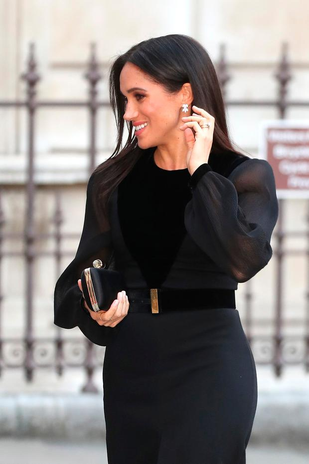 Meghan, Duchess of Sussex opens 'Oceania' at Royal Academy of Arts on September 25, 2018 in London, England