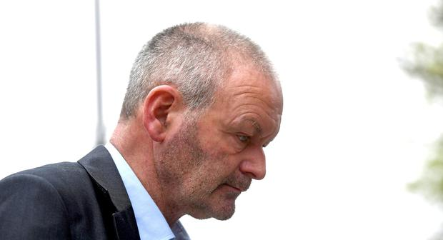 Michael Ferris pictured at Tralee Court House. The Kerry farmer is charged with the murder of neighbouring landowner Anthony O'Mahony. Photo By Domnick Walsh
