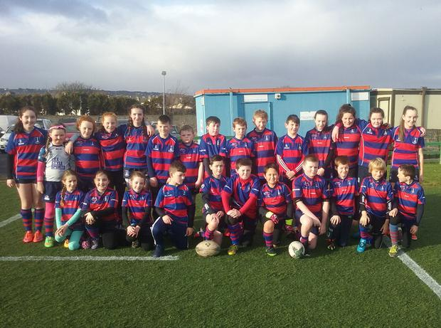 U-12 boys and girls at a recent blitz