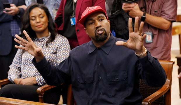 Kanye and his 'brother' Donald discuss mental health and 'male energy'