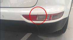 Kieran Cummins was charged €345 for a tiny scratch above the rear light
