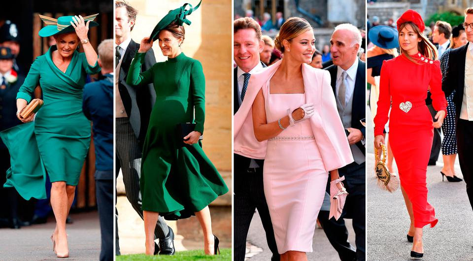 Royal Wedding The Best Dressed Wedding Guests From Eugenie And