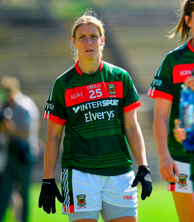 Cora Staunton of Mayo in Castlebar. Photo: Seb Daly/Sportsfile