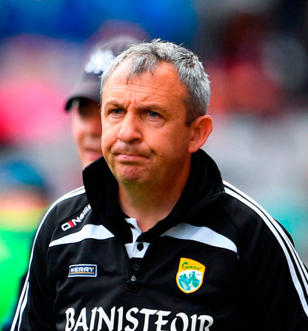 Kerry manager Peter Keane. Photo: Ramsey Cardy/Sportsfile